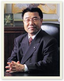 photo:President Akimitsu kono