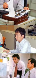 写真:専門のスタッフが迅速に対応します!